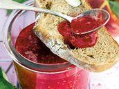 Malinovo-broskvový džem