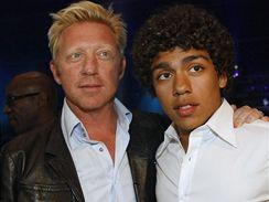 Boris Becker se synem Noahem