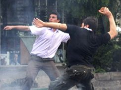 Protesty v ulic�ch Teher�nu (20. �ervna 2009)