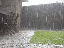 Za vydatného deště toho na zahradě moc neuděláte. Ale můžete si zatím provést údržbu zahradní techniky nebo studovat knihy a časopisy o zahradě.