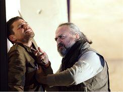 Z představení Faidra v londýnském Národním divadle