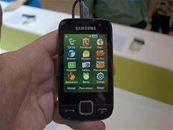 Samsung Preston na veletrhu CommunicAsia
