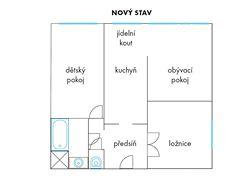 Panelov� byt 3+kk na Spo�ilov�