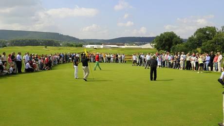 Golf Zbraslav - exhibice.
