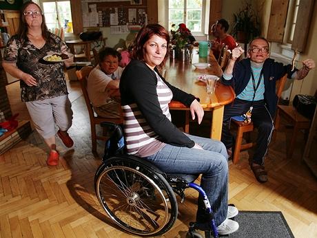 Marie Šmídová - vedoucí chráněného bydlení o.s. Portus pro lidi s mentálním či jiným postižením