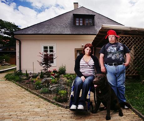 Marie Šmídová - vedoucí chráněného bydlení a pracovního centra o.s. Portus pro lidi s mentálním či jiným postižením na Slapech