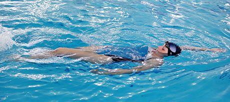 Plavání - znak