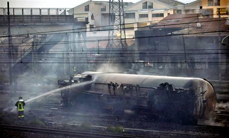 Poblíž města Viareggio vybuchly cisterny s plynem