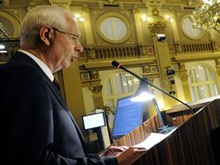 Projev Jiřího Drahoše na mimořádném sněmu vědců (30. června 2009)