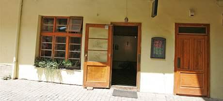 Kavárna Galeryje v Brně