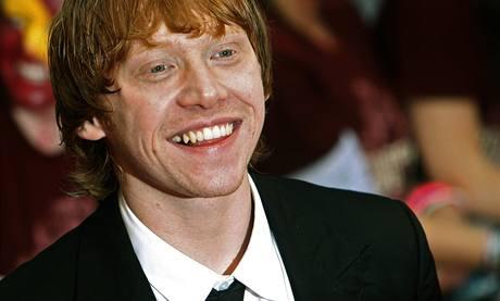 Premiéra šestého dílu Harryho Pottera v Londýně - Rupert Grint