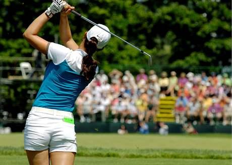 Michelle Wieov� na Wegmans LPGA.