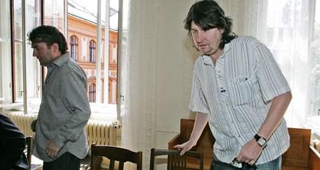 Soud s podvodníky: Rostislav Kračmar a Aleš Adámek
