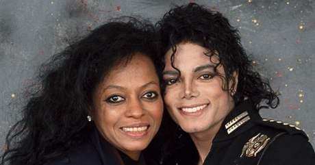 Diana Rossová a Michael Jackson
