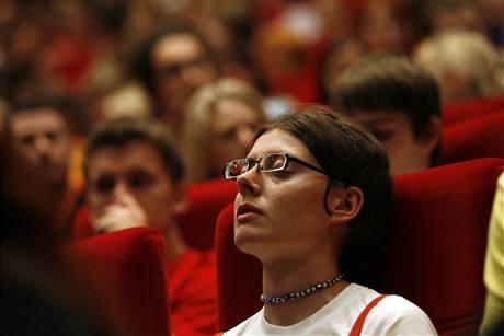 Čekání na T.M.A. Novinka Juraje Herze se promítala v úterý v jedenáct večer.