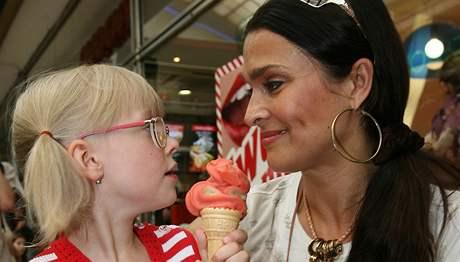 Mahulena Bočanová s dcerou