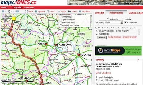 Mapy iDNES.cz