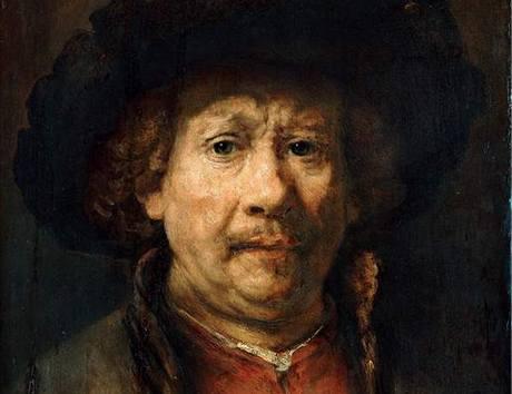 Rembrandt van Rijn, Autoportrét, kolem 1657