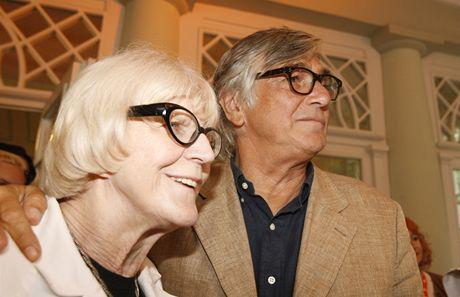 Media party 2009 - Jiří Bartoška a Eva Zaoralová