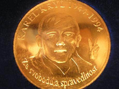 Pamětní medaile Karla Kryla