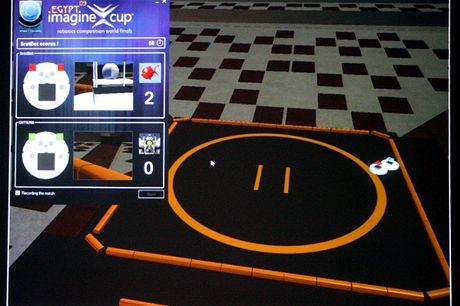 Robotics - virtualni prostredi