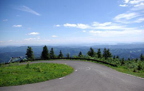 Za jasného počasí jsou z Lysé hory vidět i Tatry
