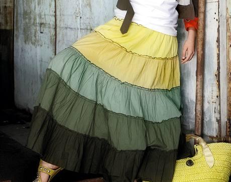 Letní módní sukně