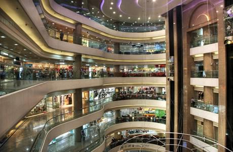 Nákupní centrum Times Square v Hongkongu