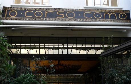 Milánské Corso Como