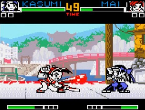 King of Fighters na NeoGeo Pocket Color
