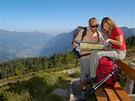 Rakousko - Gastein je rájem pro pěší turisty