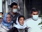 Protesty příznivců íránské opozice v Teheránu (9. července 2009)