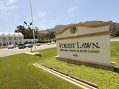 V areálu Forest Lawn Memorial Park bude Jacksonovo tělo uloženo do veřejné piety konané 7. července 2009