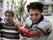Červnové protesty v ulicích Teheránu