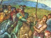 Michelangelo: Ukřižování svatého Petra