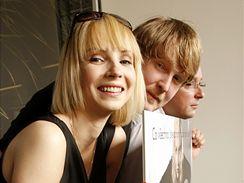 Jana Plodková, Marek Najbrt a Marek Daniel představili plakát k filmu Protektor.