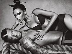 David a Victoria Beckhamovi v nové kampani pro Armaniho