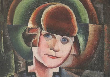 Z výstavy Barvy avantgardy: M. H. Maxy, Madame Ghitas (1924)