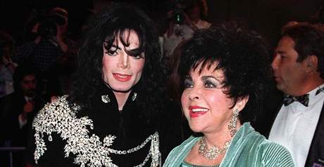 Michael Jackson a Elizabeth Taylorov