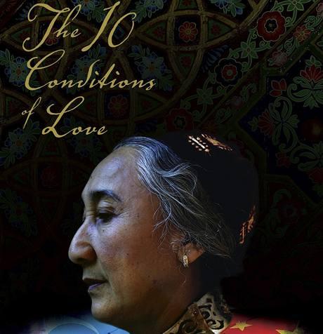 Rebía Kadírová, vůdkyně světových Ujgurů. Plakát k filmu Deset podmínek lásky