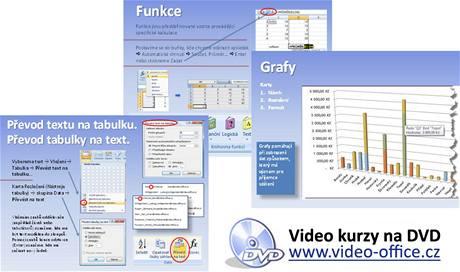 Video kurzy na DVD