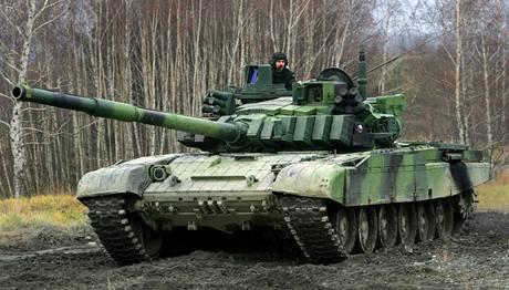 Vojáci 73. tankového praporu v Přáslavicích na Olomoucku. Ilustrační foto