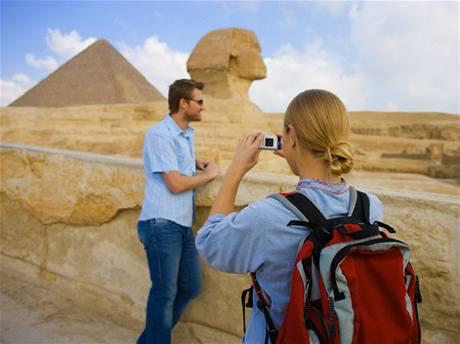 Fotografie na dovolené - pyramidy