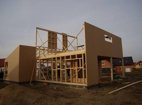 Dům stavěný difúzně otevřeným systémem
