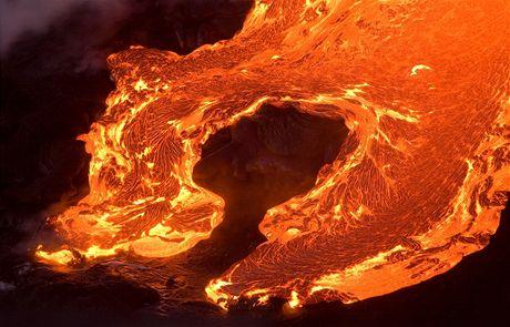 Havajské ostrovy, Haleakala (snímek z listopadu 2008)