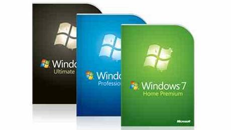 Balení Windows 7