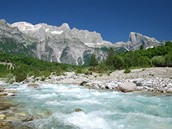 NP Thethi Albánie - hory Prokletie