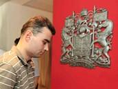 Češi čekají u kanadské ambasády ve Vídni na víza (15. července 2009)