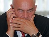 Jiří Janeček po volbě ředitele ČT (15. července 2009)