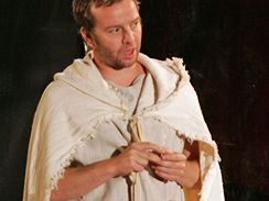 Shakespearovské slavnosti: Antonius a Kleopatra, Petr Halberstadt v roli Enobarbuse